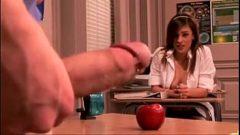 Novinha aluna de cursinho dando a buceta para o professor