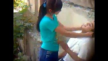 Novinha Flagrada na Rapidinha na Rua Com Vizinho
